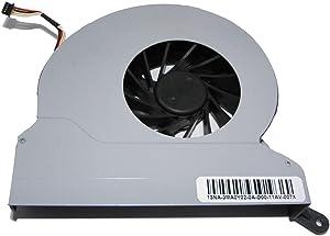 CAQL CPU Cooling Fan for HP G1-2000 CQ1-2000 100B MS200, P/N: AB9912HX-CBB MF60151V1-C010-S9A NZ3 46NZ3FATP00, 12V 0.50A