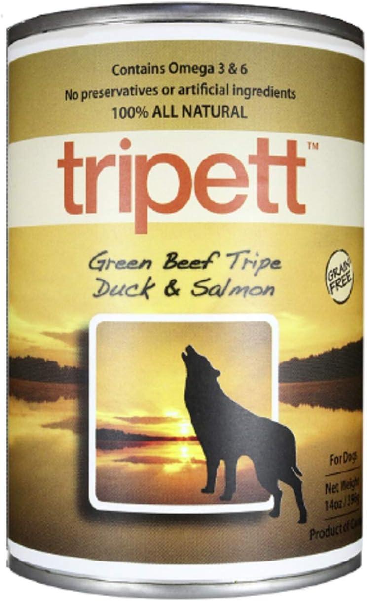 Tripett Advanced Skin and Coat Can Dog Food 12 Pk