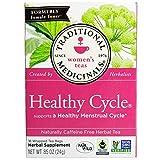 Traditional Medicinals, Healthy Cycle, Caffeine Free, 16 Tea Bags by Traditional Medicinals