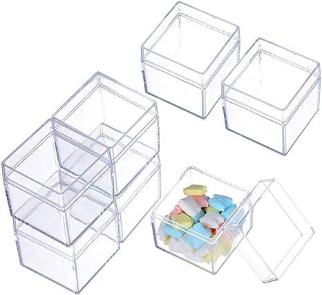 Contenedores de almacenamiento de cuentas, 12 unidades de caja de ...