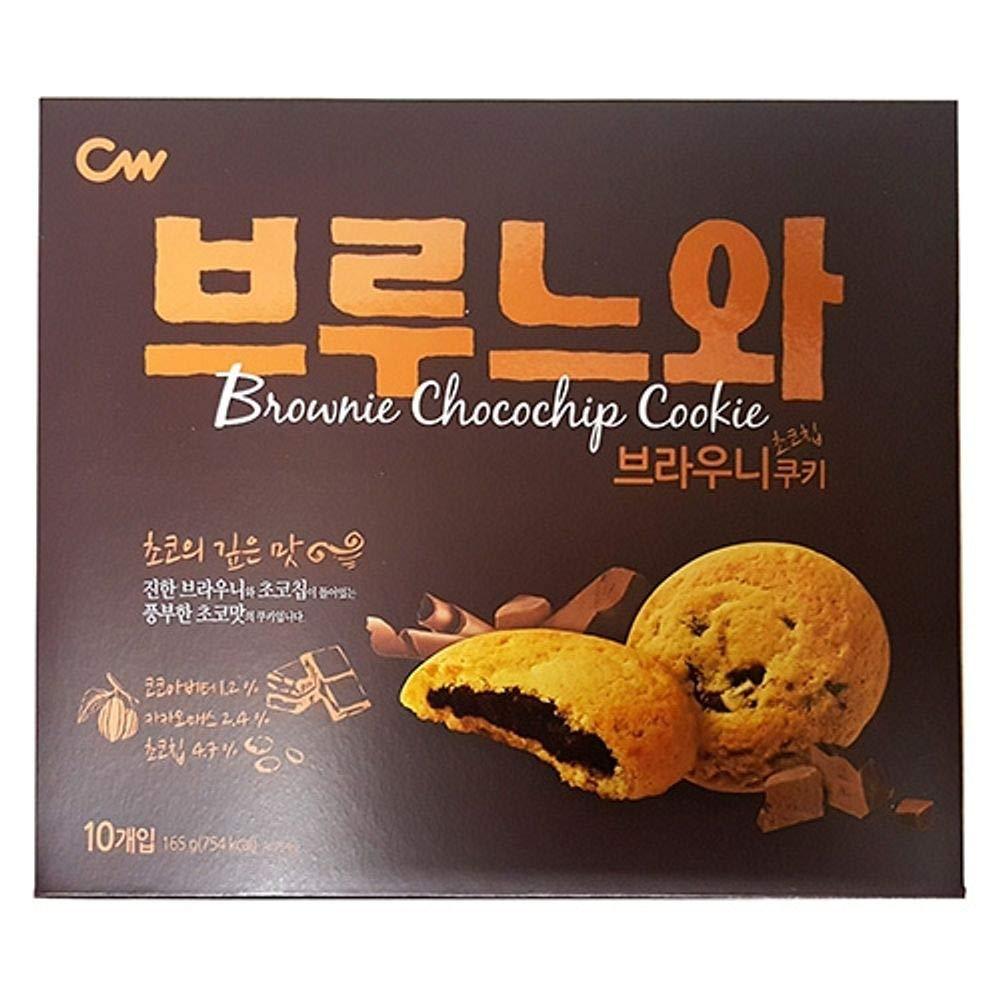 Cwfood Brownie Chocochip Cookie 165g x 8