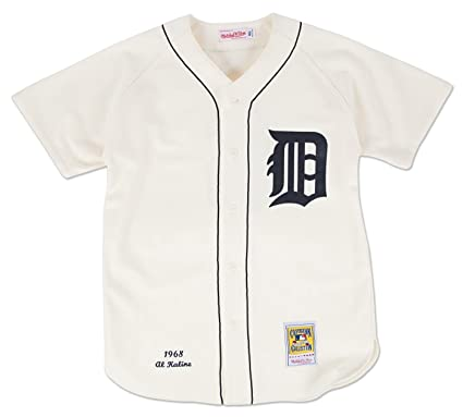 purchase cheap 76412 9053f Amazon.com : Mitchell & Ness Al Kaline Detroit Tigers MLB ...
