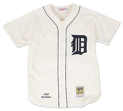 f2cee09c259 Mitchell   Ness Al Kaline Detroit Tigers MLB Authentic 1968 Jersey -  SMALL 36