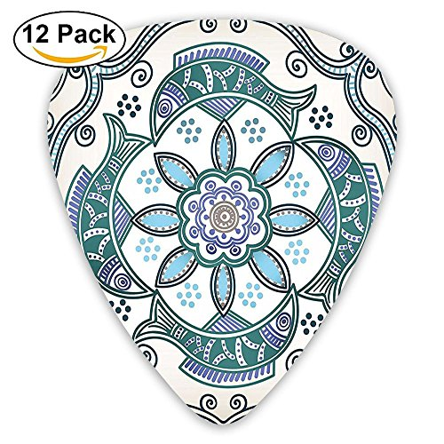 Newfood Ss Victorian Butterfly And Curved Fish Pattern Guitar Picks 12/Pack Set ()