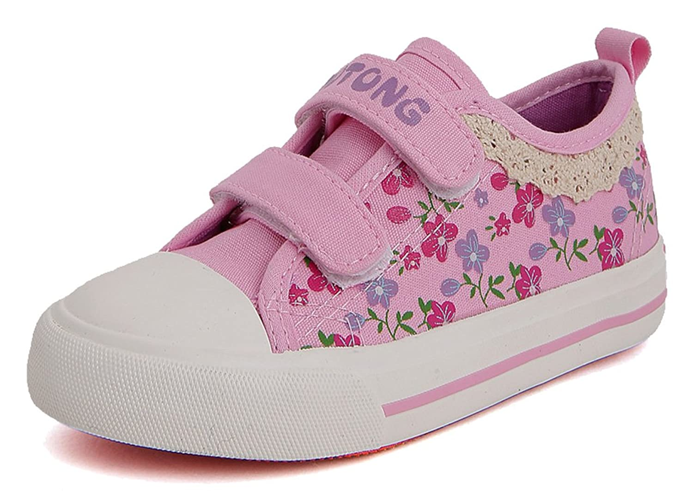 0a06cf0b01a D.s.mor Girls Toddler Little Kid Lace Decoration Kids Shoes Flower Girl  Shoes Cute Shoes (2 M