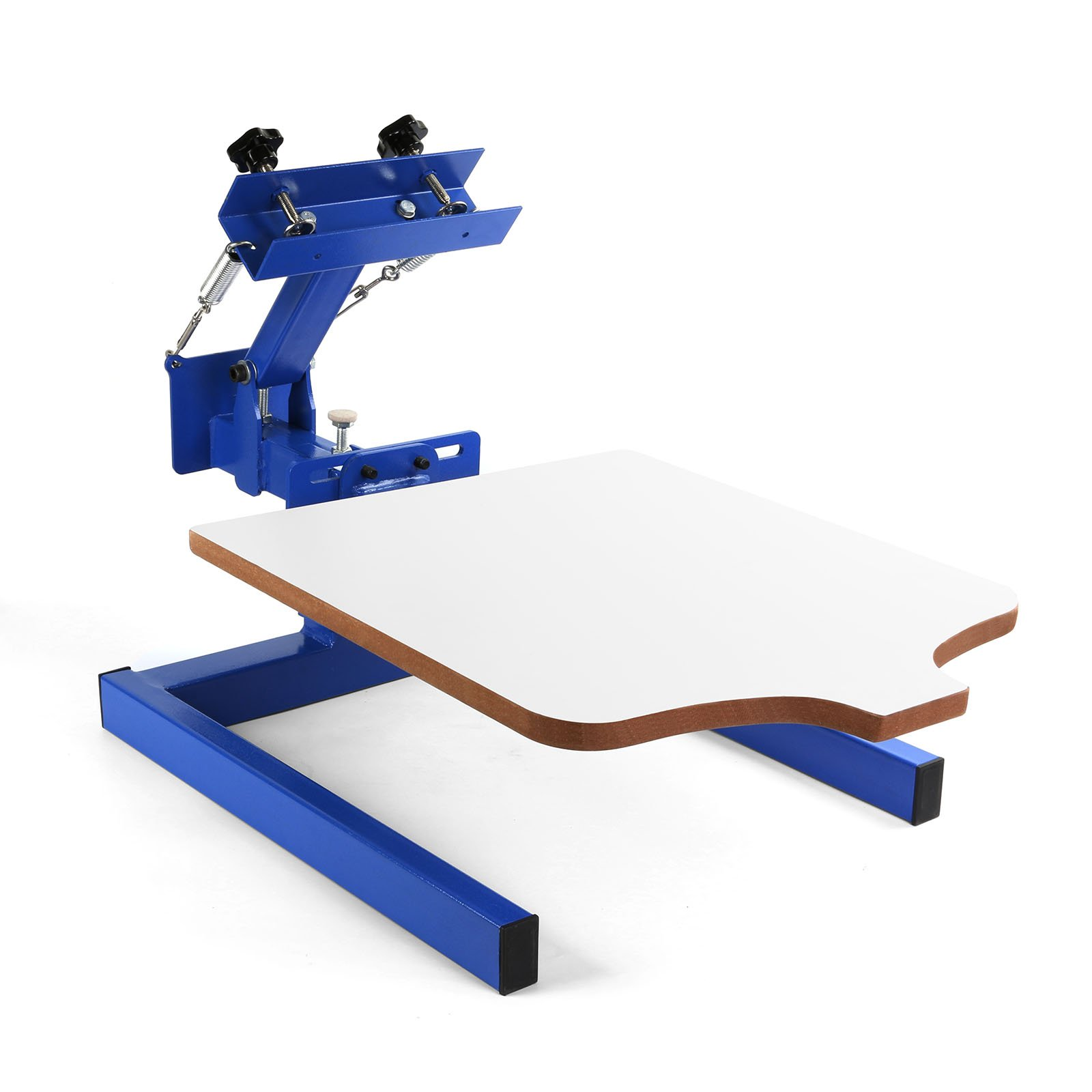 BestEquip Screen Printing Machine 1 Station 1 Color Screen Printing for T-shirt DIY Screen Printing Press Silk Screen Removable Pallet (1 station 1 color)
