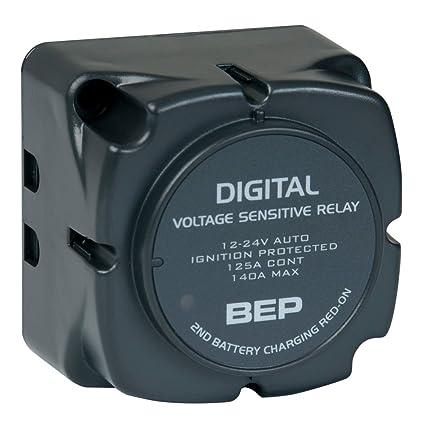 Amazon.com: BEP Digital Voltage Sensing Relay (DVSR) 12/24V: BEP ...