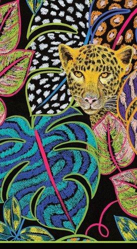 Caspari Hand Towels Paper Guest Towels Jungle Theme Baby Shower Safari Theme Party Pk ()