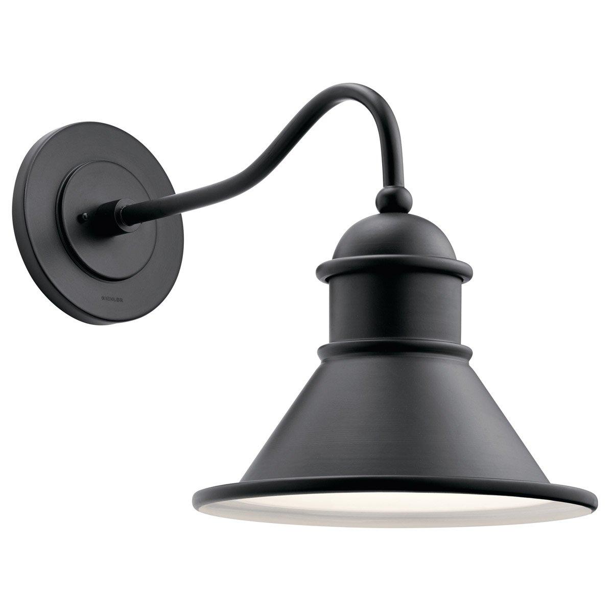 Kichler 49776BK Northland 14'' Outdoor Wall Sconce in Black
