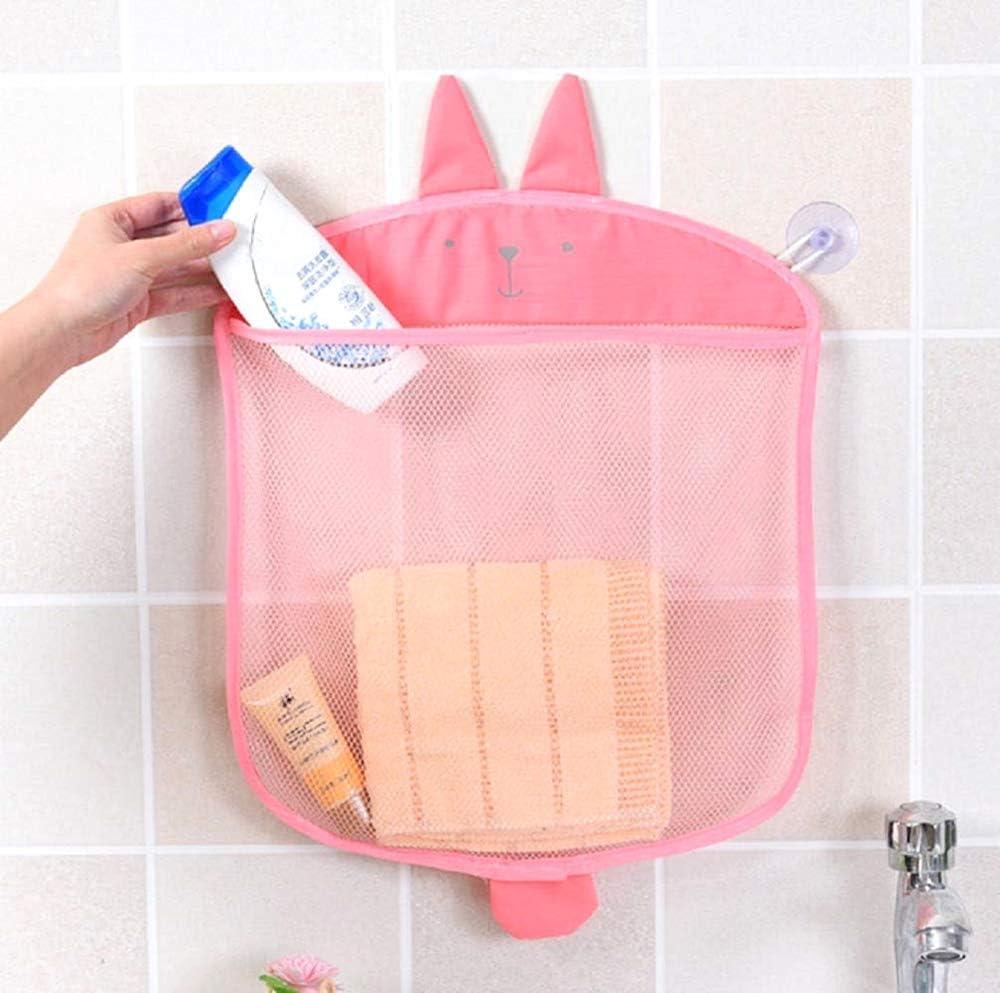 objet ours bleu clair organisateur de jeu id/ée cadeau originale douche baignoire b/éb/é sac en filet Organisateur de jouet /économiseur despace porte
