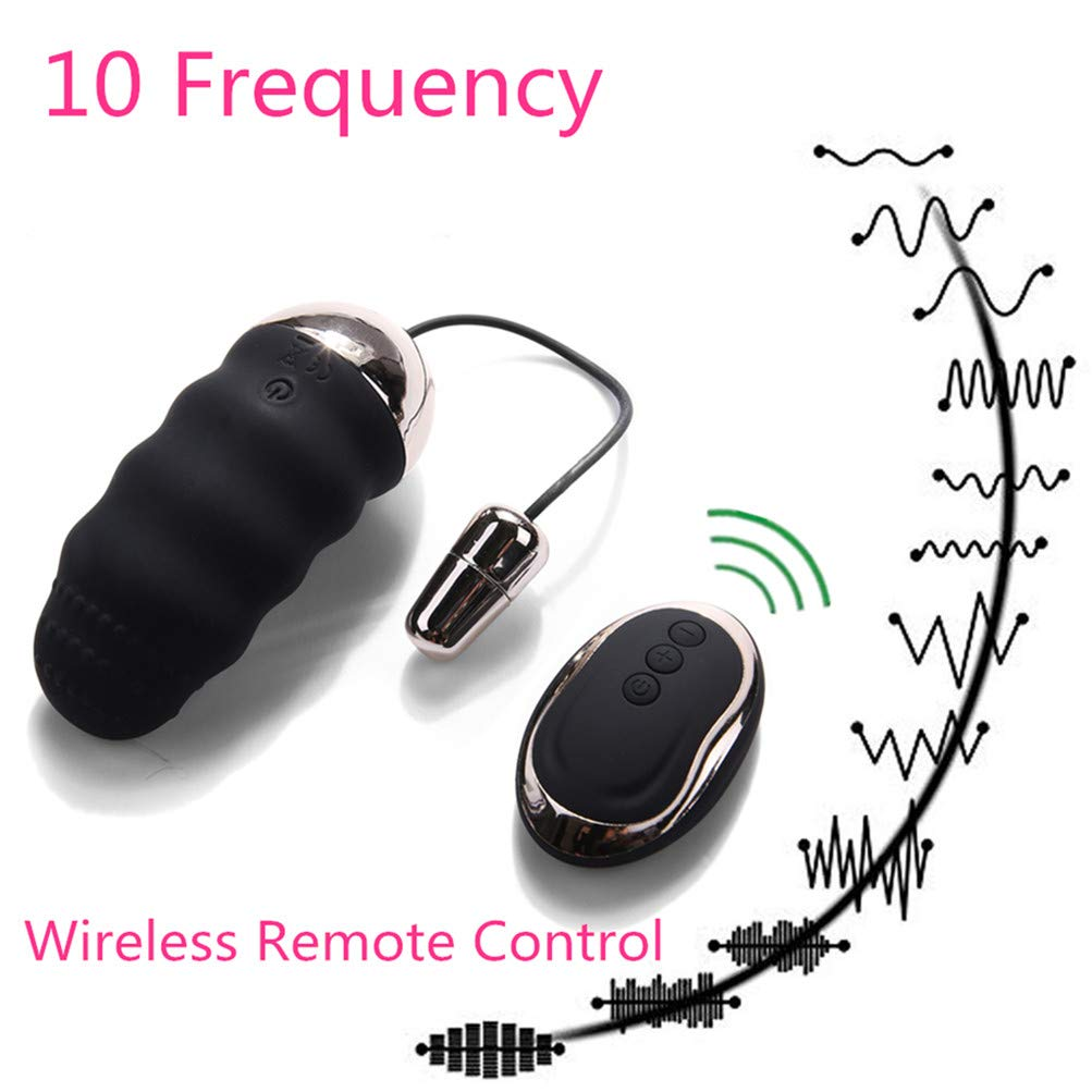 Daily Waterproof 10 Different Speed Mini Massager Strong Wireless USB Charging, Powerful Personal Small Rocket Massage Ball, Muscle Relaxation and Sport Recovery by Cometcc13