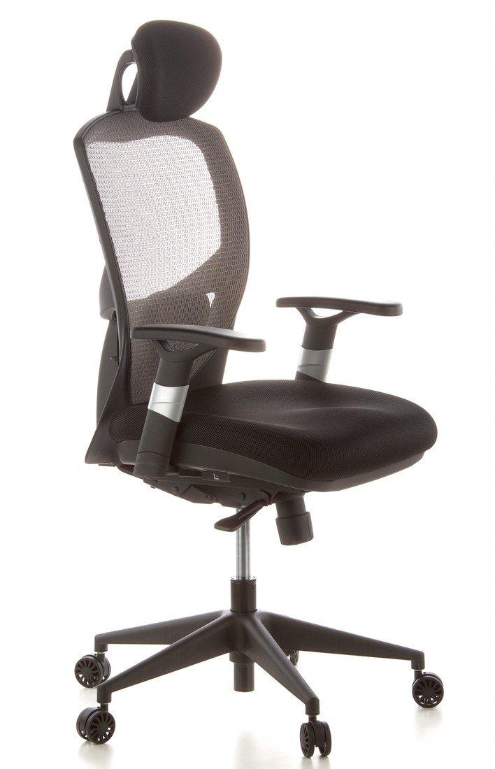 HJH Office VENUS BASE Silla de oficina Gris 48.0x63.0x124.0 cm