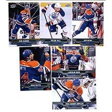 2013-14 Upper Deck NHL Hockey Edmonton Oilers Series 1 & 2 Veterans Team Set -12 Cards Including: Sam Gagner Ladislav Smid Taylor Hall Jeff Petry Ryan Smyth Ryan Nugent-Hopkins