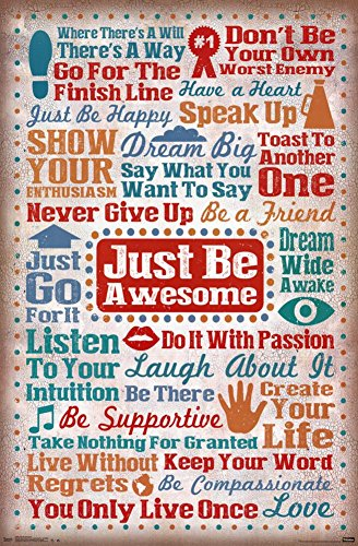 Just Be Awesome Poster