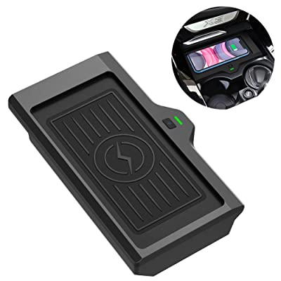 CarQiWireless Wireless Phone Charger Fast Charging for BMW X3 2020 2020 2020 BMW X4 2020 2020 Center Console 3 Coils Wireless Charging Pad Mat for BMW X3 X4 Accessory Compatible All QI Enabled Phone: Electronics