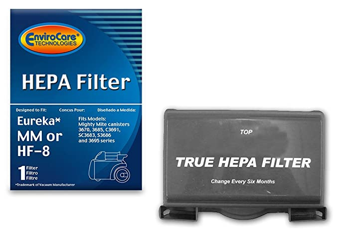 Top 9 Eureka Mighty Mite Hepa Filter