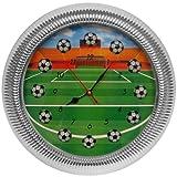 Trademark Gameroom Soccer Wall Clock, 13''
