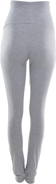 Purpless Damen Schwangerschafts Jogginghose Umstands-Sporthose Schwangerschaftshose mit Bauchband Umstandsmode 1307