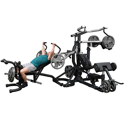 Body-Solid SBL460P4 Free-Weight Leverage Gym
