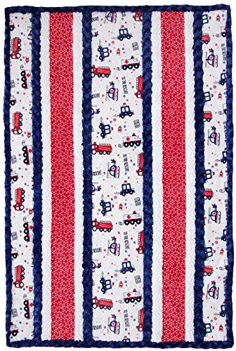 Minky Fabulous 5 9-1-1 Cuddle Kit Quilt Kit Shannon Fabrics (First Kit Quilt)