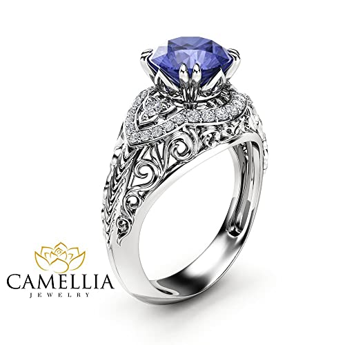 by wedding tanzanite solid original product and alison birthstone alice ring silver rings december gold alisonmooredesigns