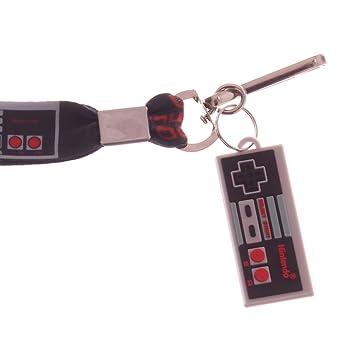 Nintendo NES controlador Lanyard Llavero w/ID Badge Holder ...