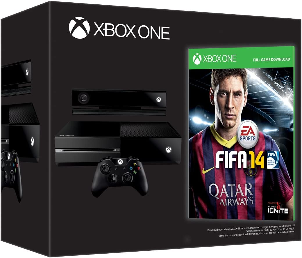Console Xbox One - Bundle Con FIFA 14 (Codice Digitale) E Chat Headset - Day-One Edition [Importación Italiana]: Amazon.es: Videojuegos