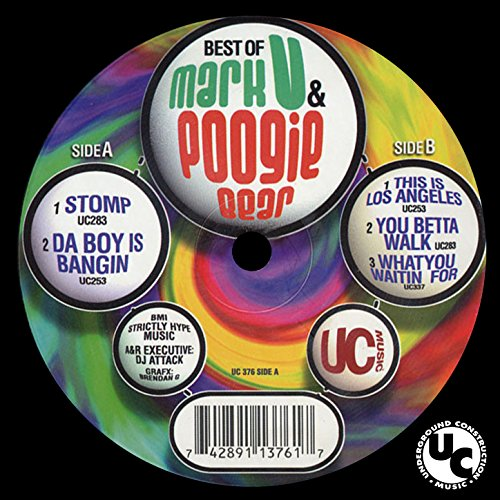 Mark V. & Poogie Bear - Beats For The Hardheadz