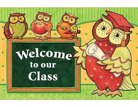 Teacher Created Resources SW Owl Postcard (4424) - Mega Crayon
