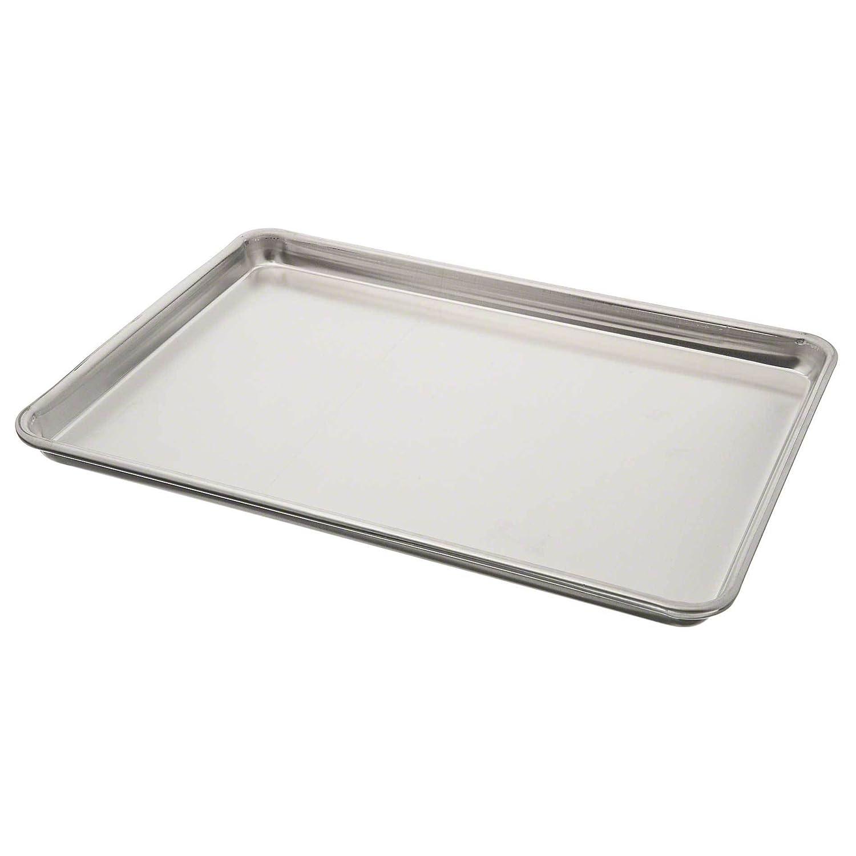 Vollrath 5303 Wear-Ever Half-Size Sheet Pan, 18-Inch x 13-Inch, Closed-Bead, Aluminum