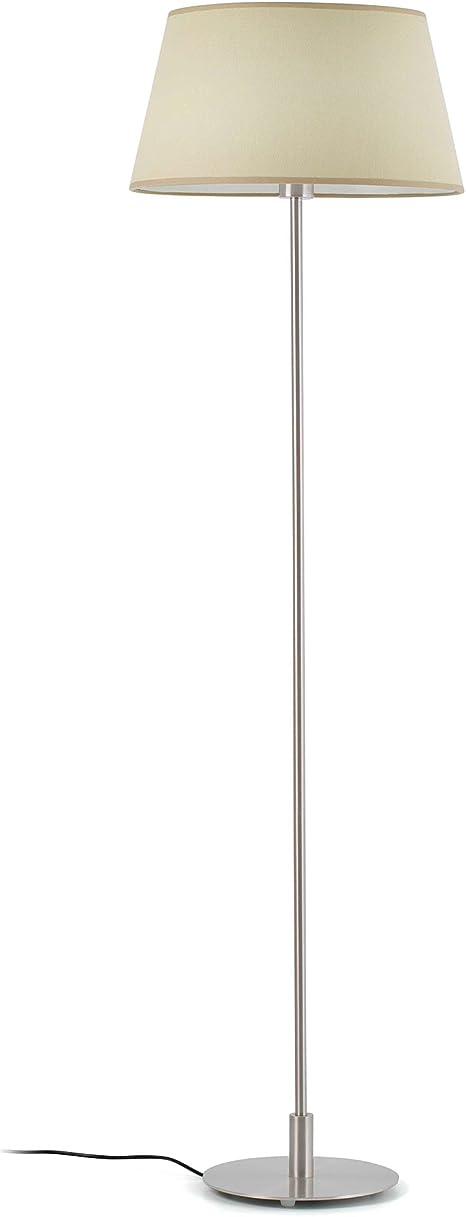 Imagen deFaro Barcelona 68418 - MITIC Sobremesas y lámparas de pie, 60W, metal y pantalla textil           [Clase de eficiencia energética B]