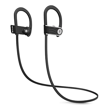 86dc9aced57c63 SoundLogic Voice Assistant Wireless Sport Earbuds Bluetooth Headset with Mic  (Black, in The Ear
