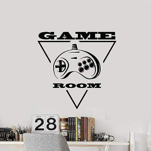 supmsds Gamer Room Stickers Joystick Videojuegos Consola Vinilo ...