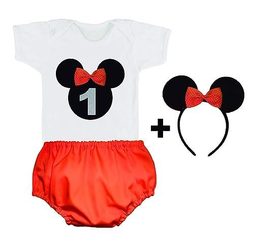Conjunto Primer Cumpleaños/Bebe Niña / 1 Año/Camiseta o Body ...