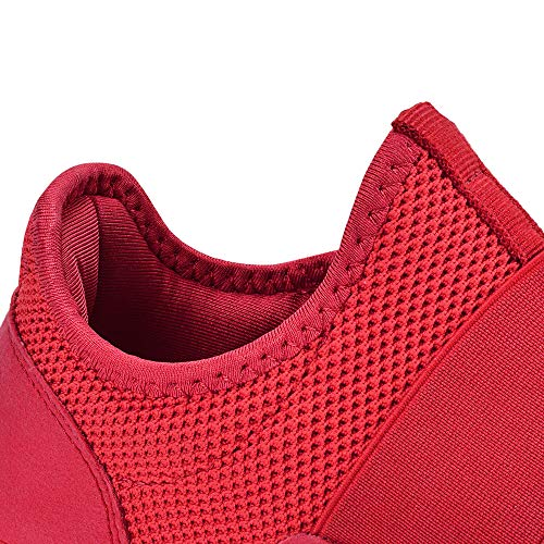 Troadlop Women Sneakers Air Cushion Slip on Tennis Shoes Light Breathable Running Walking Athletic Shoes 3