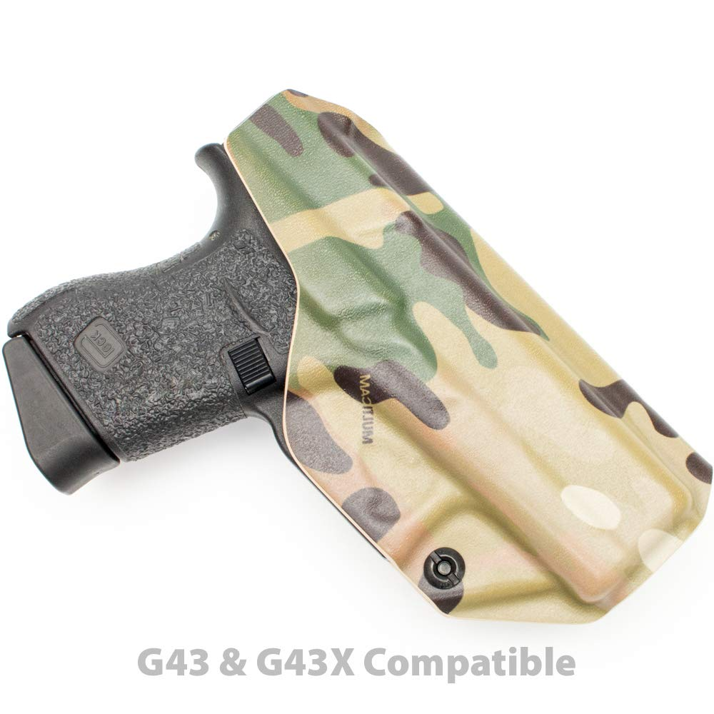 Tulster Glock 43/43X Holster IWB Profile Holster (Multicam - Left Hand) by Tulster (Image #2)
