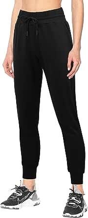 3W GRT Pantalon de Chándal para Mujer,Pantalones de Mujer,Pantalón Deportivo Mujer con Bolsillos,Pantalones Deportivos con Cordones para Mujer Yoga Fitness Jogger