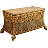 Spice Islands Classic Blanket Chest, Medium, Brown Wash
