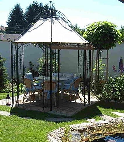 Pavillion metal Carpa Pavilion Cenador Hierro forjado romanco parrilla de hierro