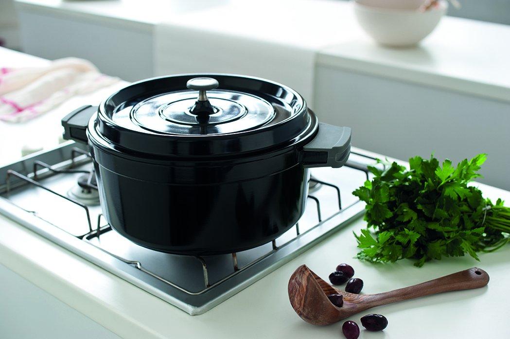 Beka Cook On Round Casserole & Lid 24cm / 4.2L White Allinox 13392244 13392244_-24cm