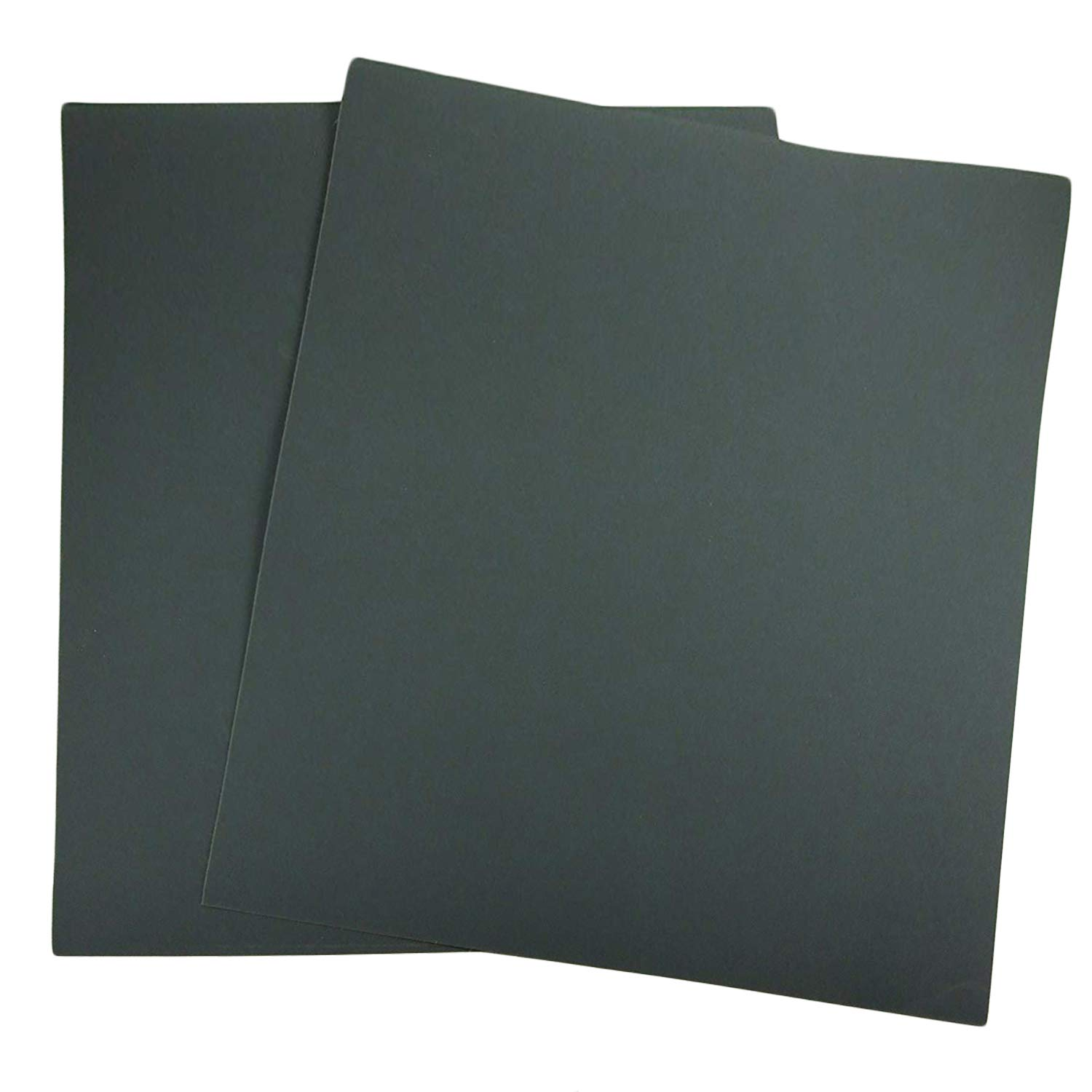 Autoly 10Pcs Wet and Dry 600 Grit Silicon Carbide Abrasive Sandpaper Sheet 11x9