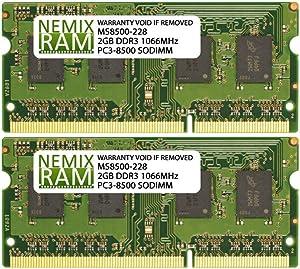 4GB 2X2GB NEMIX RAM Memory for Apple MacBook Pro Late 2008-2010