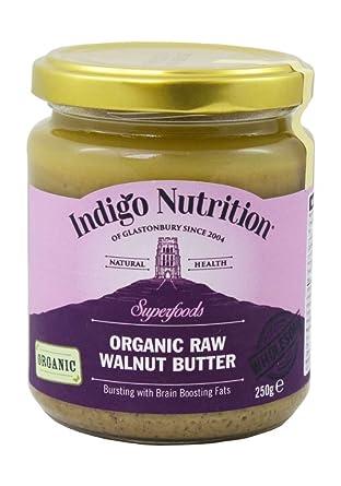 Orgánico sin procesar de la nuez de mantequilla - 250 g (orgánico certificado)