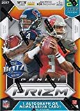 #4: 2017 Panini Prizm Series Factory Sealed Blaster Box of Packs with One Premier JERSEY RELIC or Autographed Card per box!
