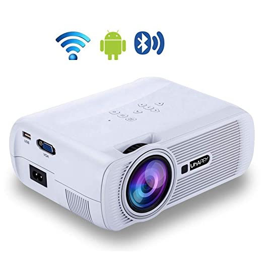 Proyector inalámbrico Bluetooth,proyector LED de Video ...