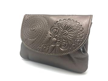 Cartera Portamonedas Monedero para Mujer Marca: Lugupell - Color: Cobre Oscuro (12,5 x 9 cm): Amazon.es: Equipaje