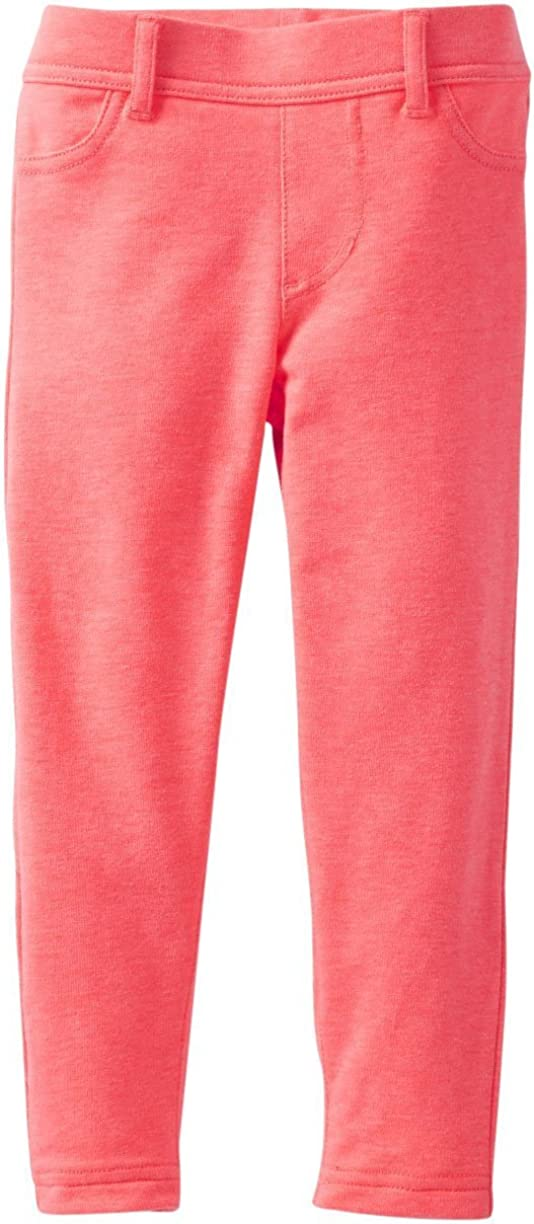 Carters Girls French Terry Jeggings Toddler//Kids