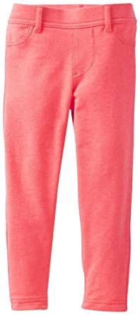 d3d93e0d029de Amazon.com: Carter's Baby Girls' French Terry Jeggings (Baby): Clothing
