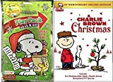 Snoopy Play Pack coloring book & A Charlie Brown Christmas DVD Animated Cartoon 50th anniversary Movie Activity Set