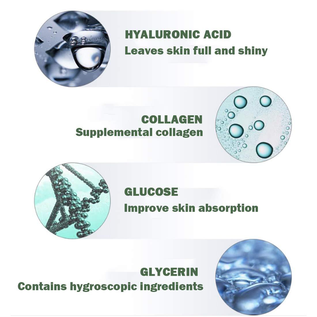 Loweryeah Snail Repair Anti-aging Cream 25g Collagen Moisturizing Nourish Repair Damaged Face Care Hyaluronic Acid Cream by Loweryeah (Image #5)